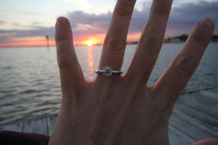 Gratuitous sunset ring shot
