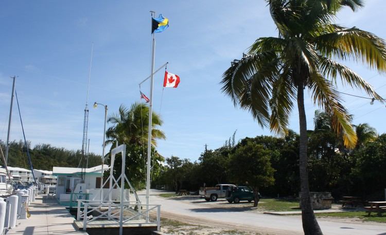 Welcome to Great Harbour Cay!  Canadian, American, Bahamian.