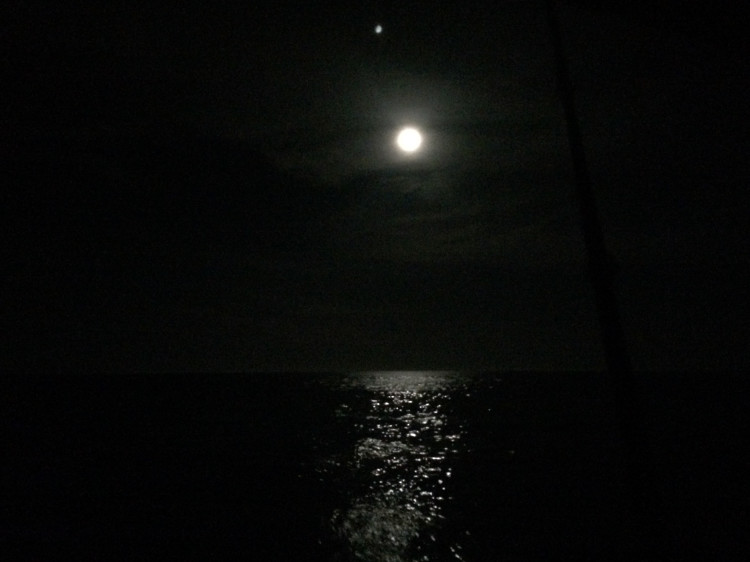 Overnighter! Dark night up the NJ Coast